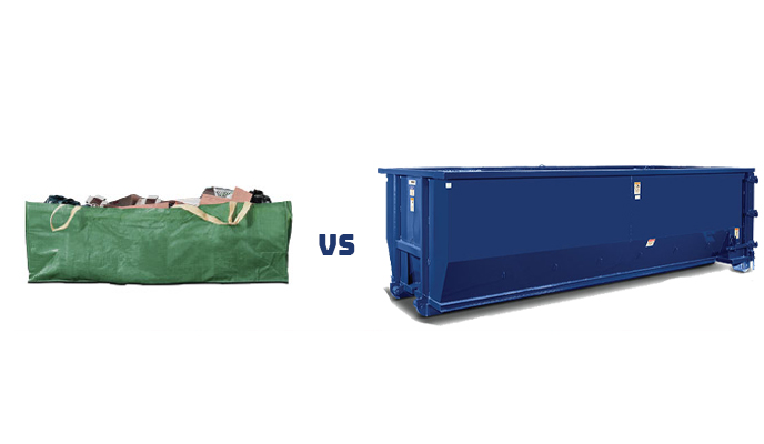 Dumpster Bag vs Dumpster Rental - Which One is Right for Your Project